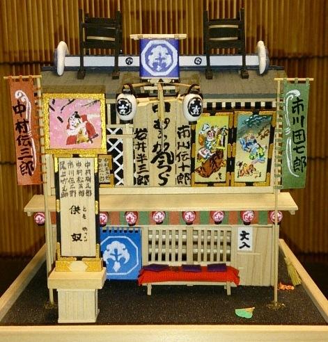 江戸三座「中村座」 : 江戸小物・和雑貨店「神田 ちょん子」