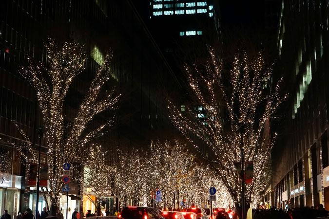 年末の有楽町~銀座~丸の内のライトアップ_a0263109_1147357.jpg