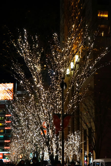 年末の有楽町~銀座~丸の内のライトアップ_a0263109_1147618.jpg