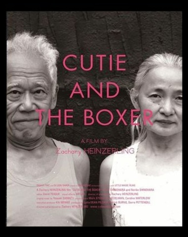 『 CUTIE AND  THE  BOXER 』&『 Only Lovers   Left  Alive 』_d0151827_2158937.jpg