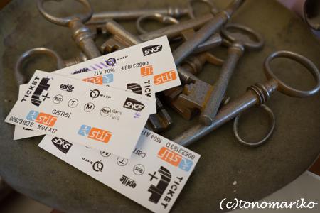 パリのメトロのチケットを集めると…_c0024345_20444320.jpg