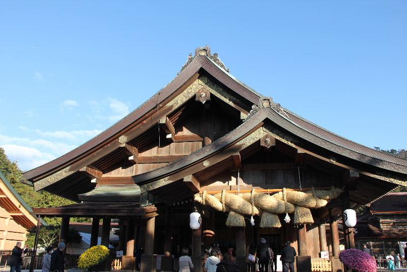 日本神話の旅 【出雲大社】_c0011649_5453082.jpg