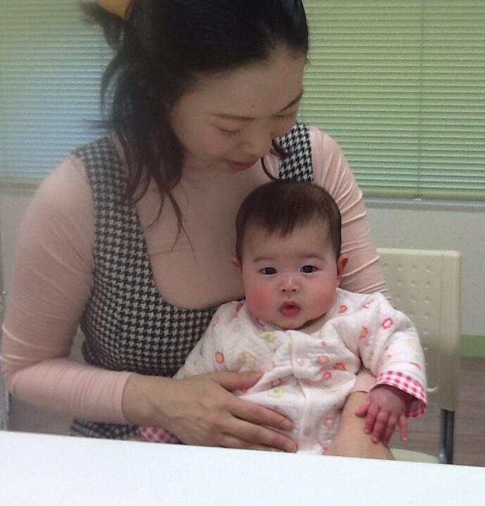 babyに癒されました_b0093660_22421380.jpg