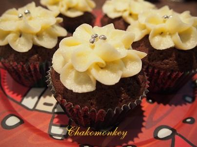 おうちでRed Velvet Cupcakeの復習_f0238789_2093399.jpg