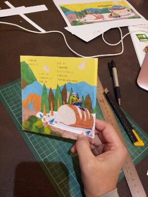 Artist morito(CDアルバムを作る、3)_b0244593_11322733.jpg