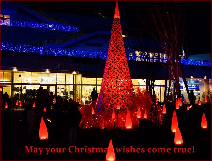 テラスモール湘南のクリスマスイルミネーション2013_b0145398_19593431.jpg