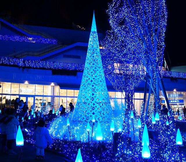 テラスモール湘南のクリスマスイルミネーション2013_b0145398_19595834.jpg