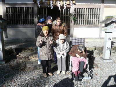荻原神社へ初詣!_a0154110_16463616.jpg
