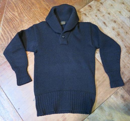1月11日(土)入荷商品!30'S ショールカラー セーター _c0144020_17085032.jpg