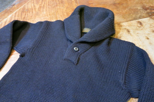 1月11日(土)入荷商品!30'S ショールカラー セーター _c0144020_17085386.jpg