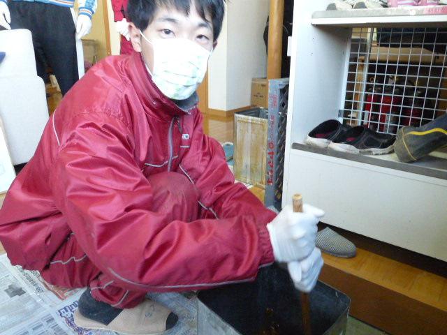 『廃油石鹸つくり』_c0214657_18233861.jpg