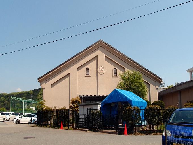 旧日高町公会堂_f0116479_13293120.jpg
