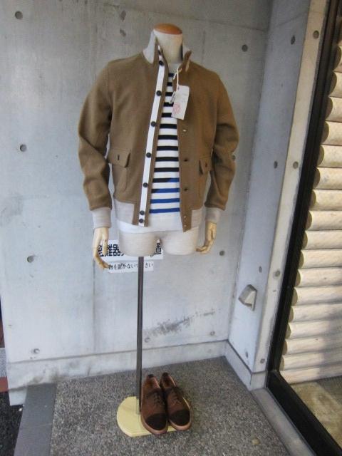 RING JACKET ・・・ Valstar 型 WOOL JACKET!★!_d0152280_15442531.jpg
