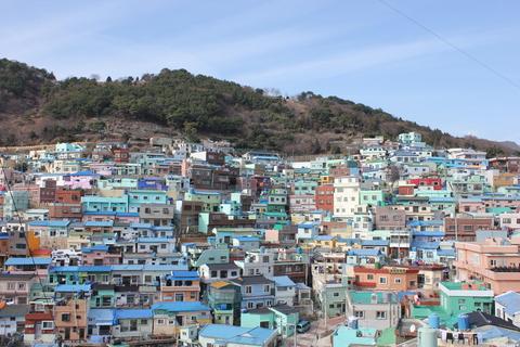 釜山の旅、その3。釜山の壁画村、甘川洞(カムチョンドン)のタルトンネ_a0223786_10594559.jpg