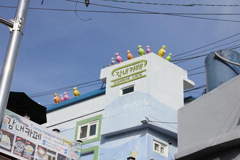釜山の旅、その3。釜山の壁画村、甘川洞(カムチョンドン)のタルトンネ_a0223786_1105119.jpg