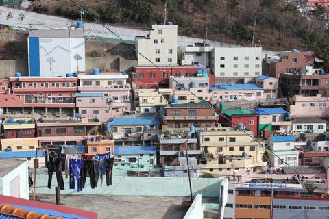 釜山の旅、その3。釜山の壁画村、甘川洞(カムチョンドン)のタルトンネ_a0223786_1112685.jpg