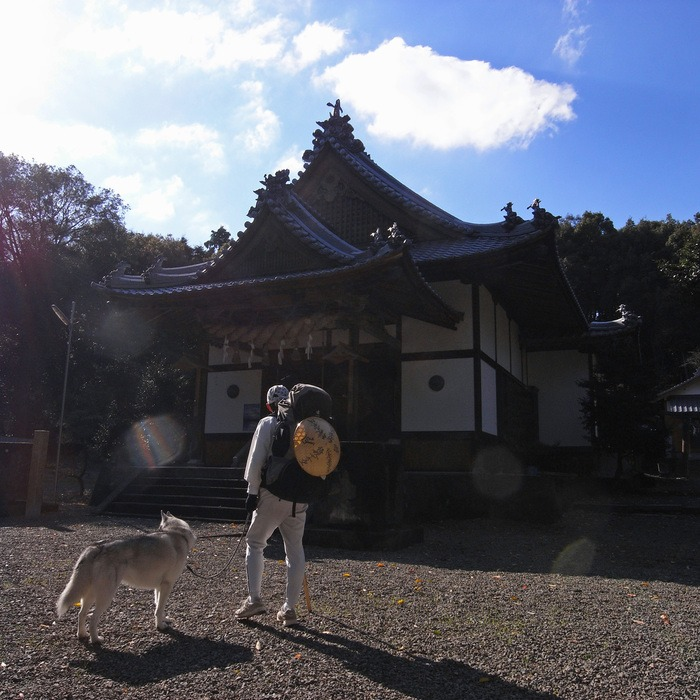Memory of the second pilgrimage with husky HANA II_c0049299_18371293.jpg