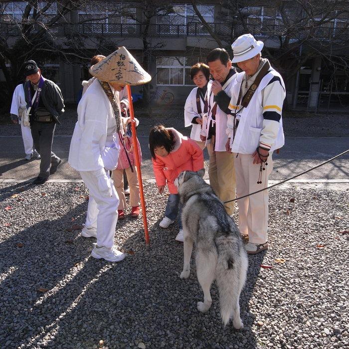 Memory of the second pilgrimage with husky HANA II_c0049299_18393435.jpg