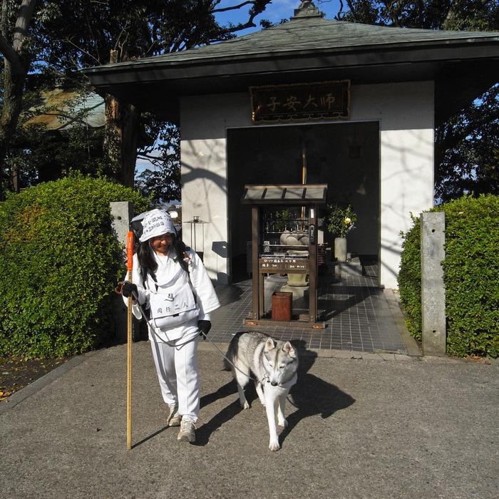 Memory of the second pilgrimage with husky HANA II_c0049299_18401330.jpg