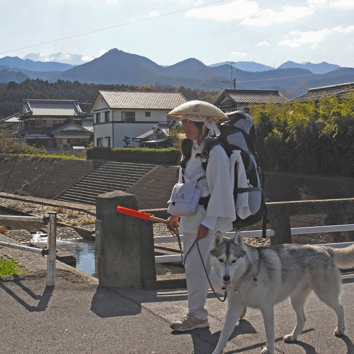 Memory of the second pilgrimage with husky HANA II_c0049299_18411523.jpg