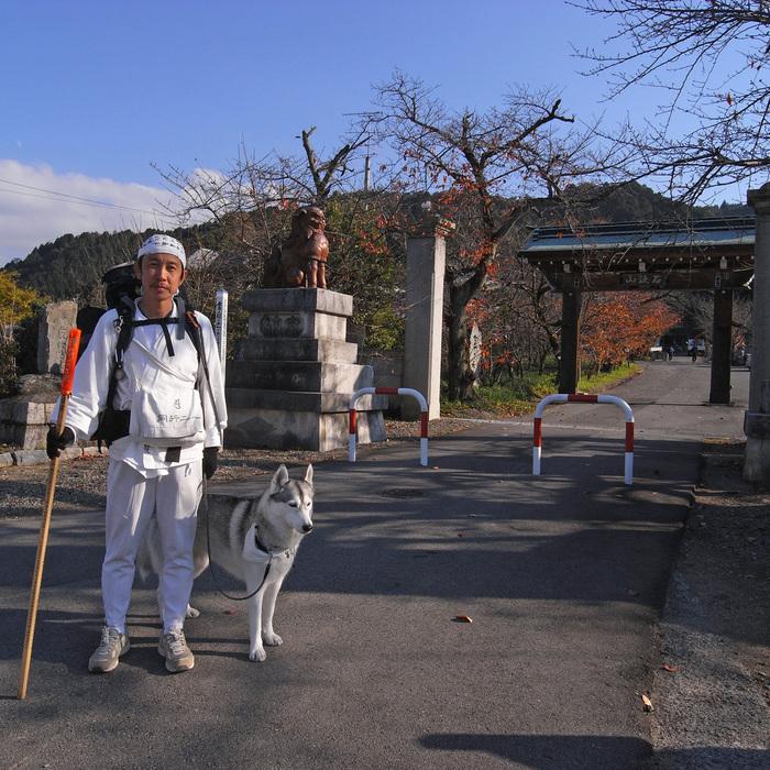 Memory of the second pilgrimage with husky HANA II_c0049299_18502426.jpg