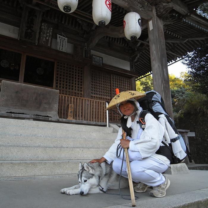Memory of the second pilgrimage with husky HANA II_c0049299_1853587.jpg