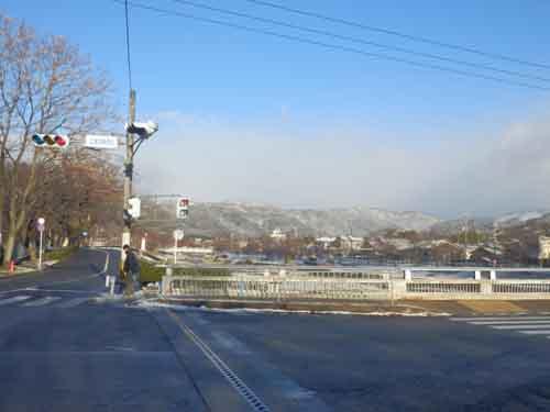 賀茂川雪景色_e0048413_1742390.jpg