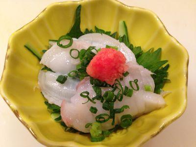 北海道産  水だこポン酢_e0160513_18101647.jpg