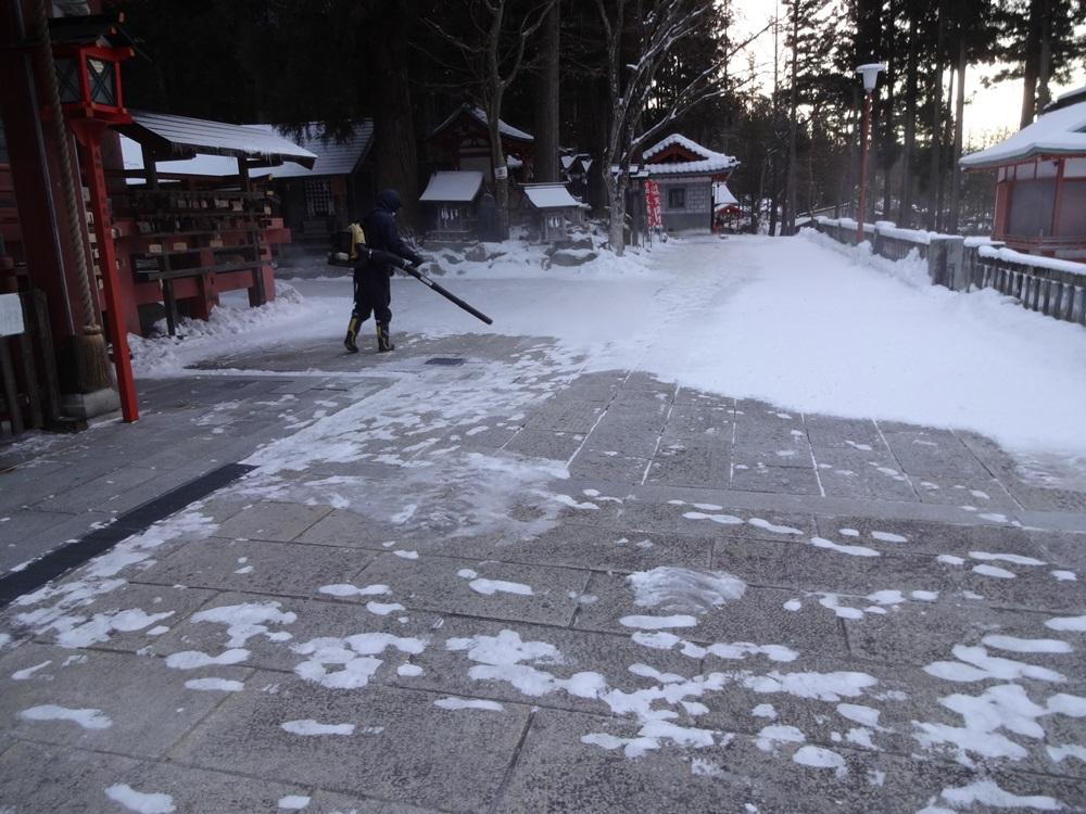 除雪から始まった_c0111229_20323312.jpg