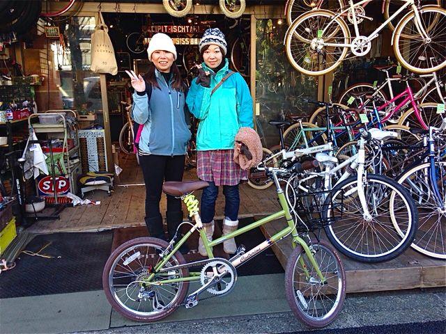 ☆今日のバイシクルガール5本立て☆ 自転車 女子 おしゃれ_b0212032_2115498.jpg