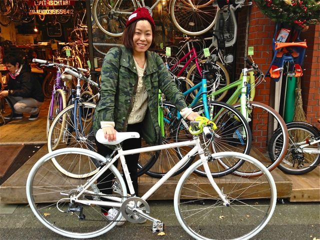 ☆今日のバイシクルガール5本立て☆ 自転車 女子 おしゃれ_b0212032_211616.jpg