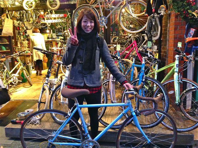 ☆今日のバイシクルガール5本立て☆ 自転車 女子 おしゃれ_b0212032_21163619.jpg
