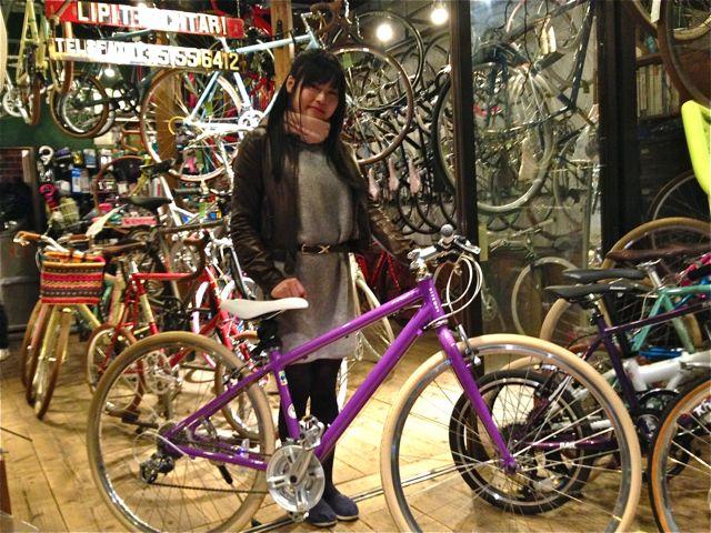 ☆今日のバイシクルガール5本立て☆ 自転車 女子 おしゃれ_b0212032_21172046.jpg