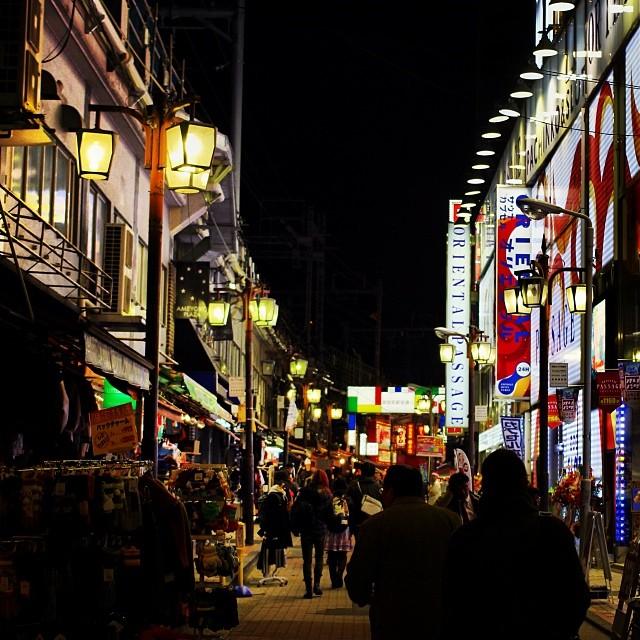 【AD】「ポケドラ(WFS-SR01)」を使って写真をその場でスマホに取り込みつつ、夜の上野を写真散歩_c0060143_21131436.jpg