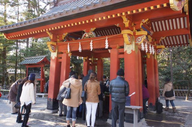 新春の鶴岡八幡宮_a0257652_2318295.jpg