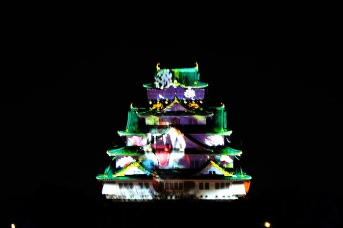 大阪城3Dマッピング_e0232054_10535747.jpg