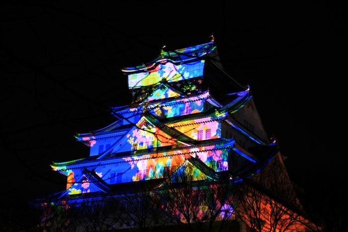 大阪城3Dマッピング_e0232054_1122855.jpg