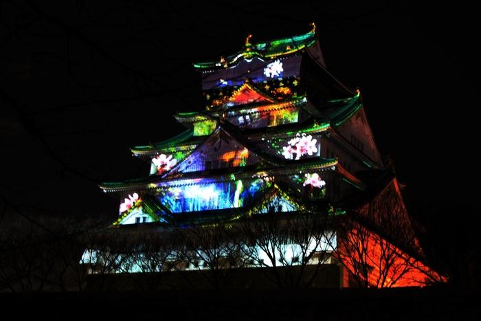 大阪城3Dマッピング_e0232054_114899.jpg