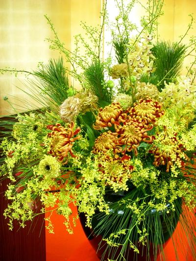 パーティ装花@TOKYO  GUMI_a0229658_14522037.jpg
