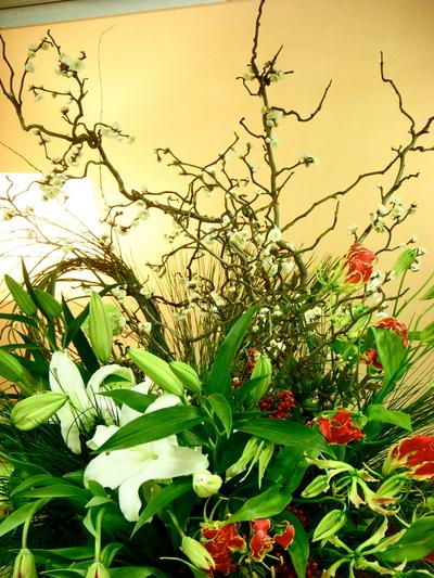 パーティ装花@TOKYO  GUMI_a0229658_15562233.jpg