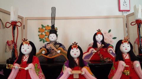 雛人形展始まりました。_d0171222_1743023.jpg