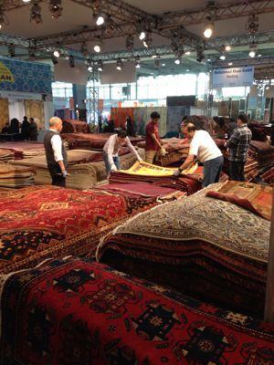 今ドイツで行われている絨毯博覧会に来ています‼_a0071934_144882.jpg