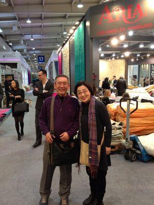今ドイツで行われている絨毯博覧会に来ています‼_a0071934_55228100.jpg