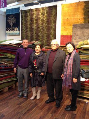今ドイツで行われている絨毯博覧会に来ています‼_a0071934_5523167.jpg