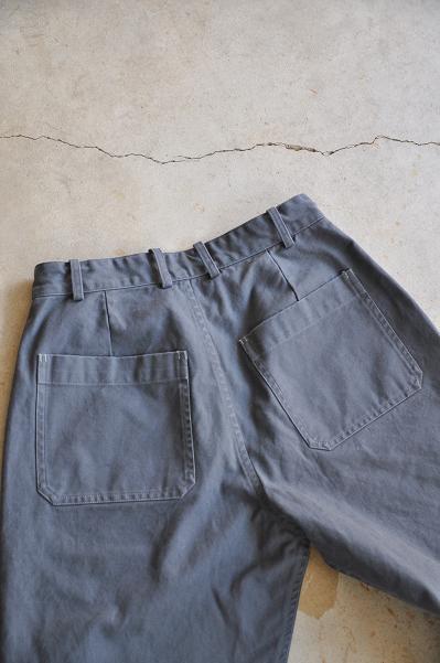 STYLE CRAFT WARDROBE/スタイルクラフト ワードローブ PANTS#3 WASH GRAY/パンツ