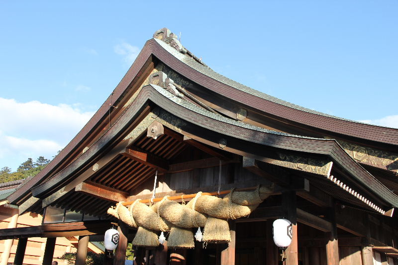 日本神話の旅 【出雲大社】_c0011649_9243429.jpg