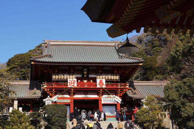 新春の鶴岡八幡宮_a0257652_085532.jpg