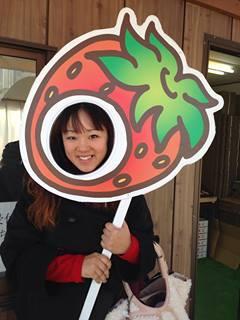 イチゴ狩り×イチゴ狩り☆_f0109257_19313437.jpg