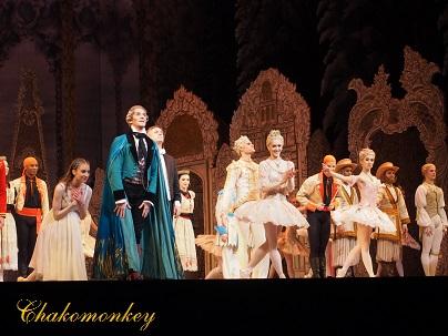 Royal BalletのNutcrackerを観る_f0238789_057593.jpg