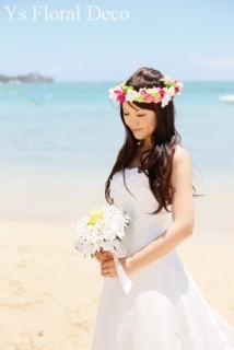 南国の花冠 ハワイ挙式の新婦さんへ_b0113510_1026251.jpg